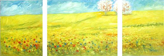 Landschaftsgem lde landschaftsmalerei landschaftsmaler landschaften malen landschaft - Foto auf leinwand malen ...